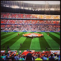 Photo taken at Donbass Arena / Донбасс Арена by Oleksandr T. on 6/30/2013