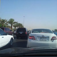 Photo taken at King Khaled Rd by MNasban on 9/17/2012