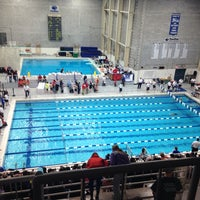 Photo taken at McCoy Natatorium by Drew G. on 3/23/2014