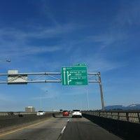 Photo taken at Oak Street Bridge by Steven L. on 3/27/2013
