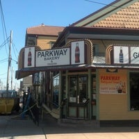 Photo taken at Parkway Bakery & Tavern by Ryan W. on 2/14/2013
