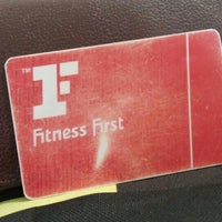 Photo taken at Fitness First by Aldrin V. on 5/11/2016