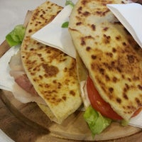 Photo taken at Divina Piadina - Piadineria artigianale a Milano by Roberto D. on 1/7/2013