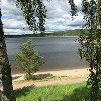 Photo taken at Särna Camping by Thomas B. on 6/27/2016