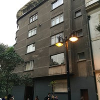 Photo taken at Barrio Lastarria by Cristian V. on 4/28/2016