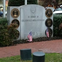 Photo taken at Collierville Town Square / Confederate Park by Jason K. on 3/22/2013