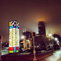 Photo taken at Atlantic Station by Anthony C. on 12/28/2012
