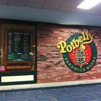Photo taken at Potbelly Sandwich Shop by Ronaldo X. on 12/19/2012