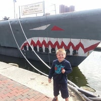 Photo taken at Historic Ships in Baltimore by Victoria G. on 5/20/2014
