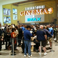 Photo taken at Lincoln Square Cinemas by Kennedy S. on 5/16/2013