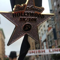 Photo taken at Hollywood Half Marathon & 5k / 10k by Mei Laarnee on 4/6/2013
