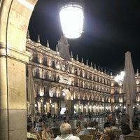Photo taken at Plaza Mayor by Davididis De Ecclesius on 7/8/2013