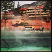 Photo taken at Glenwood Hot Springs by Colleen H. on 2/6/2013