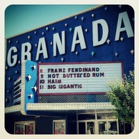 Photo taken at The Granada by Bigger on 10/8/2013