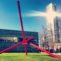 Photo taken at Dallas Museum of Art by Sarah S. on 2/24/2013