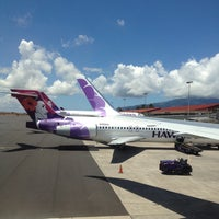 Photo taken at Kahului Airport (OGG) by Elena P. on 5/20/2013