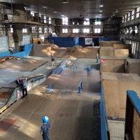 Photo taken at Four Seasons Skate Park by WJ D. on 12/30/2013