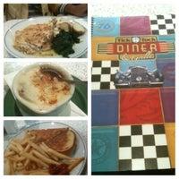 Photo taken at Tick Tock Diner by Tuvara K. on 10/12/2012