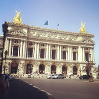 Photo taken at Place de l'Opéra by Svetlana A. on 7/12/2013