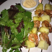 Photo taken at Manu's Tapas Bar & Sushi Lounge by Dana Storm S. on 4/19/2013