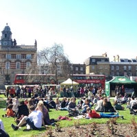 Photo taken at Camberwell Green by Josef D. on 4/20/2013