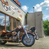 Photo taken at Harley Davidson Šalamounka Club by Alesha . on 7/25/2014