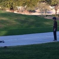Photo taken at Silverado Golf Course by Michael M. on 1/27/2014
