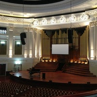 Photo taken at Brisbane City Hall by Simon P. on 6/8/2013