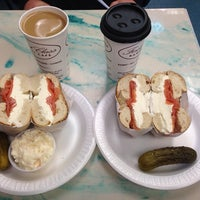 Photo taken at First Class Bagels by Rees P. on 12/25/2013