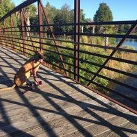 Photo taken at Joe's Creek Greenway Park by Mo E. on 10/24/2015