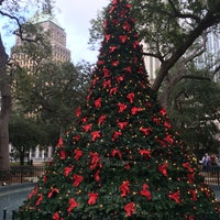 Photo taken at Bienville Square by Emily B. on 12/17/2016