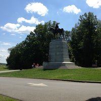 Photo taken at Virginia Monument, Gettysburg Battlefield by DonTonTingo on 8/25/2013