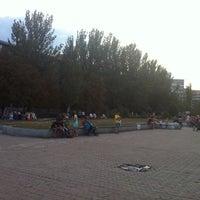 "Photo taken at Остановка ""Шумен"" by Yuriy M. on 8/11/2014"
