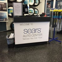 Photo taken at Sears Auto Center by Benjamin G. on 10/29/2016