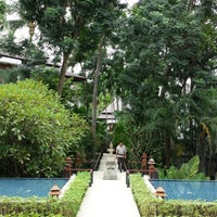 Photo taken at Nakamanda Resort And Spa Krabi by Arnaud D. on 7/21/2013