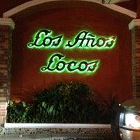 Photo taken at Los Años Locos by Dan L. on 1/23/2013