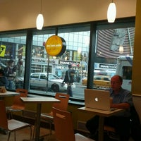 Photo taken at Au Bon Pain by Macy R. on 9/26/2012