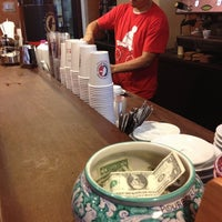 Photo taken at La Colombe Torrefaction by Anthony C. on 10/20/2012