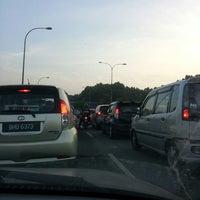 Photo taken at Exit Batu Tiga by Endah M. on 7/2/2014