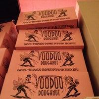 Photo taken at Voodoo Doughnut Too by Sabrina B. on 11/4/2012
