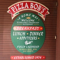 Photo taken at Pizza Bob's by Harry H. on 10/3/2012