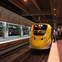 Photo taken at Arlanda Express (Stockholm C) by Oussan on 11/29/2012