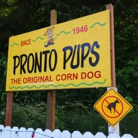 Photo taken at Pronto Pups by Dk C. on 7/7/2013