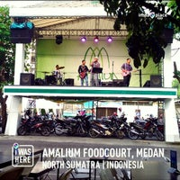 Photo taken at Amaliun Food Court by AmeYulia on 7/19/2013