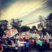 Photo taken at Avenida Bento Gonçalves by Tanira B. on 10/28/2012