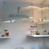Photo taken at Panadería La Argentina by Edu D. on 2/28/2014