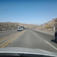 Photo taken at CA-138 (Pearblossom Hwy) by Matty M. on 2/17/2013