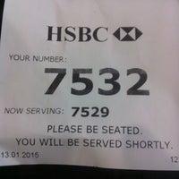 Photo taken at HSBC Bank by Syamsuzzaman n. on 1/13/2015