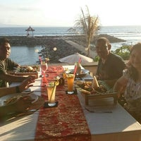 Photo taken at Le - Zat Beach restaurant by Irma Iskandar Y. on 11/22/2015