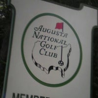 Photo taken at Augusta National Golf Club by Chad D. on 10/20/2012